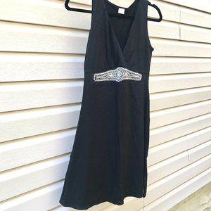Little Beaded Black Dress